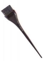 Парикмахерские аксессуары Деваль Кисть для окраски широкая черная с волнистой щетиной