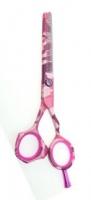Ножницы, бритвы, масло Ножницы филировка 6 (40зуб.) Tayo Solo розовые