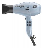 Фен PARLUX Advance Ceramic-Ionic, 2200W, серо-голубой (2насадки)