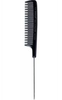 5115/8.5 Триумф Расческа нейлоновая с зубцами разной длины, с металлическим хвостиком21см