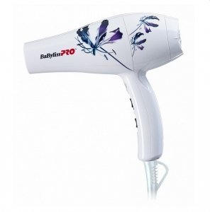 Babyliss Фен Pro Light, Orchid Collection, 2000W (1 насадка)