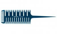 Парикмахерские аксессуары Comair Расческа Blue Profi Line №717 специальная для распрямления волос