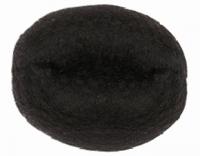 Парикмахерские аксессуары Валик для причесок искусственный волос + сетка, d14см