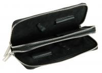 Чемоданы, косметички, сумки  Футляр для ножниц двойной черный