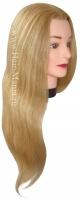 Тренировочные головы, манекены, штативы  Голова блондинка, волосы 50-60см