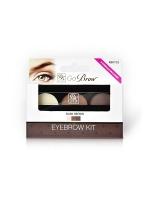 """Декоративная косметика для лица, глаз, бровей, губ Кисс Набор для моделирования бровей """"Go Brow"""" (chocolate brown)"""