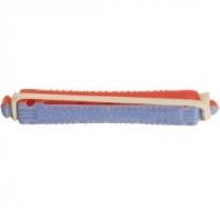 Парикмахерские аксессуары Деваль Бигуди-коклюшки, красно-голубые, короткие (12шт)
