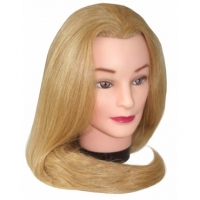 Тренировочные головы, манекены, штативы Голова тренировочная, длина волос 45-50 см
