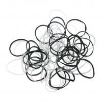 Шпильки, невидимки, зажимы, резинки, валики для причесок Силиконовые резинки для волос диам 10-45 мм Dewal