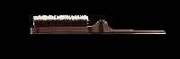 Расчески, брашинги, щетки Style Up Щетка 3-х рядная складная, ион. штифты+щетина, лого iQ