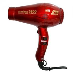 Фен PARLUX 3800 ion/cer 2100W красный