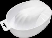 Маникюрные и педикюрные инструменты, пилки RuNail Ванночка для маникюра и снятия акрила (пластик)