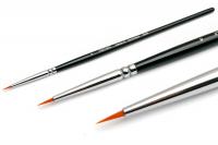 Кисти для геля, акрила, инструменты для дизайна Кисть для дизайна №9  Detail S Synthetic ANR