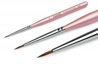 Принадлежности и инструменты для маникюра педикюра, инструменты 0200 RuNail Кисть для дизайна №2  Finest Kolinsky AKR