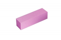 Шлифовщик для искусственных ногтей розовый