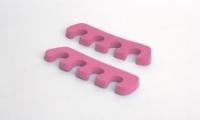 Принадлежности и инструменты для маникюра педикюра, инструменты 0807 RuNail Разделители для пальцев ног розовые 10мм