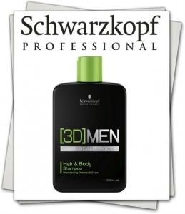 Бонакур (3D) МЭН Шампунь для волос и тела 250мл