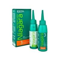 Химсоставы для завивки волос Estel Набор для химической завивки Niagara для окрашенных волос