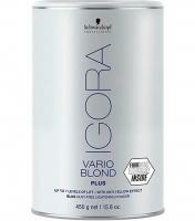 Препараты для обесцвечивания волос, снятия цвета Игора Варио Блонд Плюс System FIBRE PLEX 450гр