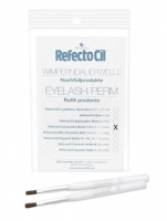 Пинцеты для бровей и сопутствующие материалы RefectoCil Косметическая кисточка  для химической завивки ресниц 2шт