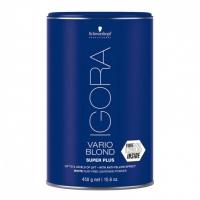 Препараты для обесцвечивания волос, снятия цвета Игора Варио Блонд Супер Плюс System FIBRE PLEX 450гр