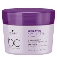 Маски для волос Bonacure Keratin  Маска Идеальная гладкость 200 мл