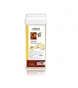 1515 RuNail Воск для депиляции Cardi (Белый шоколад) 100мл