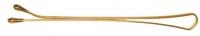 Шпильки, невидимки, зажимы, резинки, валики для причесок SLN60P-5/60 Деваль Невидимки прямые золотистые 60мм/60шт
