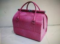 Чемоданы, косметички, сумки Чемодан для визажиста (рептилия)