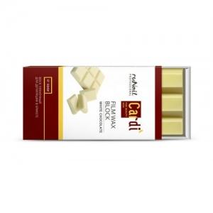 Воск пленочный для депиляции в брикете Cardi Белый Шоколад 500г