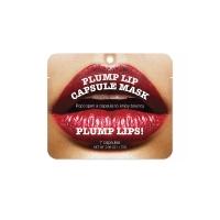 Уход для глаз и губ Kocostar Капсульная сыворотка для увеличения губ (7 капсул) Plum Lip Capsule Mask Pouch
