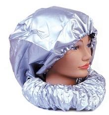 Колпак для сушки волос феном цвет-серебро