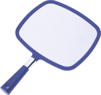 Сопутствующие товары Деваль Зеркало заднего вида, пластик, синее, с ручкой, 33.5х23.5см