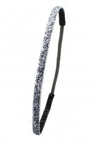 Парикмахерские аксессуары Резинка с антискользящим покрытием (блестящий металлик1см)