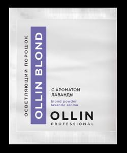 OLLIN BLOND Осветляющий порошок аромат Лаванды 30гр