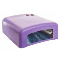 Новинки 3219 RuNail УФ Лампа 36W фиолетовая розовая (120 сек) GL-515