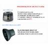Фен PARLUX Advance Ceramic-Ionic, 2200W, фуксия (2 насадки)