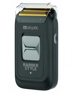 Шейвер для проработки контуров и бороды DEWAL BARBER STYLE аккум/сет 9500об/мин, 5W, 2 бр.головки