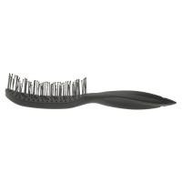 Расчески, брашинги, щетки Щетка для укладки продувная, изогнутая,  по форме головы, TOP STYLE