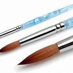 Кисти для геля, акрила, инструменты для дизайна Кисть для акрила №6  Kolinsky Round nar