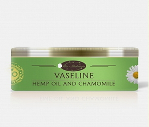 Вазелин с ромашкой и конопляным маслом  100мл