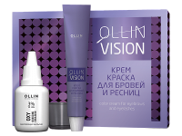 БРОВИ И РЕСНИЦЫ  OLLIN Vision Набор для окрашивания бровей и ресниц