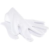 Профессиональные пилки, инструменты, принадлежности Косметические перчатки 100% хлопок в пакете