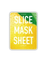"Уход для лица Kocostar SLICE MASK SHEET (LEMON) Маска-слайс для лица ""Лимон"" ,20мл"