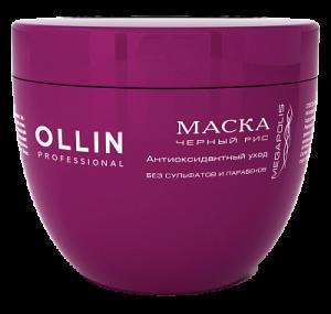 OLLIN Маска на основе черного риса 500мл