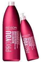 Шампуни Revlon Professiona серия Pro You Шампунь увлажняющий и питательный 350мл