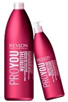 Шампуни Revlon Professiona серия Pro You Шампунь увлажняющий и питательный 1000мл