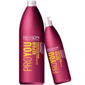 Revlon Professiona серия Pro You Шампунь восстанавливающий для поврежденных волос 1000мл