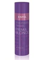 Кондиционеры, бальзамы маски для волос Estel Серебристый бальзам для холодных оттенков блонд  ESTEL PRIMA BLONDE 200 мл