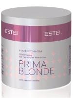 Кондиционеры, бальзамы маски для волос Estel Комфорт-маска для светлых волос  ESTEL PRIMA BLONDE 300 мл